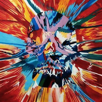 Skull 20x20 oil painting Framing Avail Modern art decor decoration abstract.