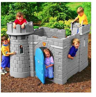 NEW Little Tikes Classic Castle Kids Outdoor Garden Playhouses Wendy House Toys