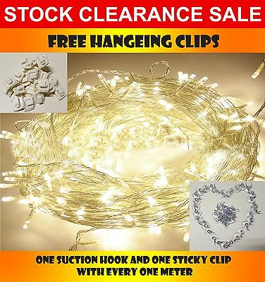 100/200/300/400/500 LED String Fairy Lights Indoor/Outdoor fairylights Party