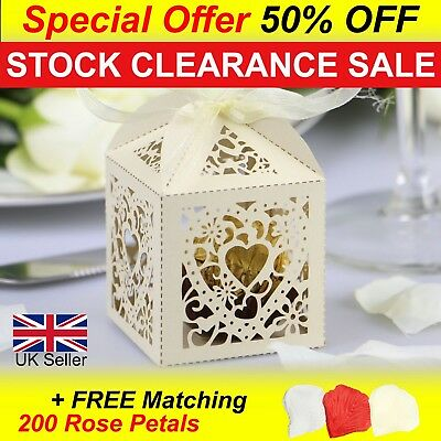 Luxury Wedding Favour Boxes, Sweet Cake Gift Candy Favor Boxes