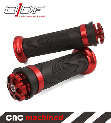 "Hand Handle Bar Grips PGO Big Max, Comet, Galaxy, G-Max ""RS1"", red"
