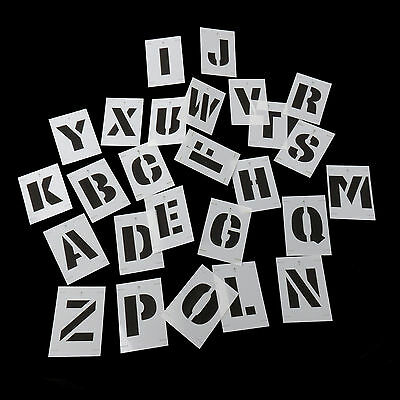 New Reuseable Letters Numbers Symbols Stencil Kit Uppercase Poster Sign Painting