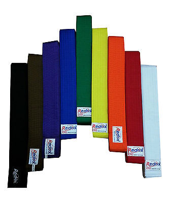 Custom Embroidered Color Belt. Martial Arts, Karate Taekwondo, width 4cm belt