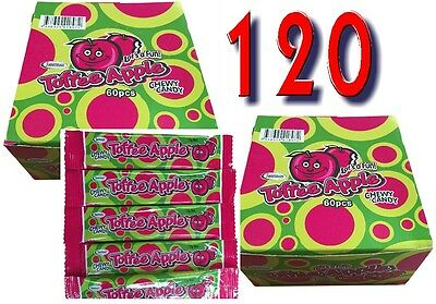Toffee Apple X 120  Chwey Candy Bars Bulk Lollies Party Favors Candy Buffet