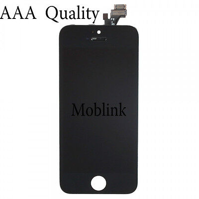 iPhone 5G BLACK  LCD SCREEN DISPLAY DIGITIZER ASSEMBLY REPLACEMENT  AAA QUALITY