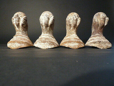Set of 4  Antique Cast Iron Claw Feet 6 1/2 inches Tall Ball and Claw