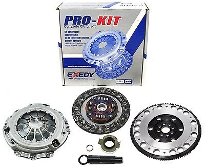 Exedy Clutch Pro-Kit+Forged Pro-Lite Flywheel Acura Rsx Type-S Civic Si K20 6Spd