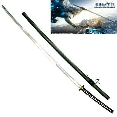 Final Fantasy Masamune Sephiroth's Sword Replica HUGE w/Single Sword Stand
