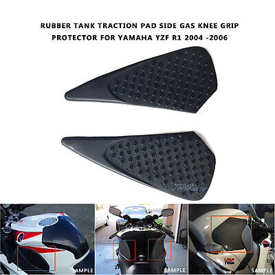 For Yamaha YZF R1 2004/2005/2006 3M Tank Traction Pad Side Gas Knee Grip Pads