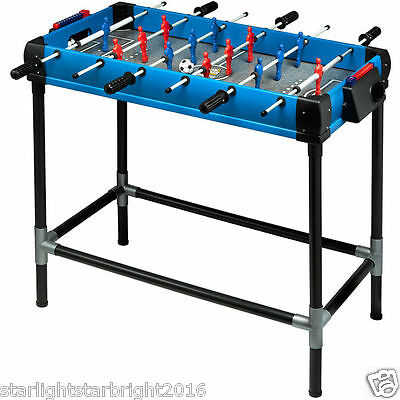 Mini Foosball Table Football Soccer Table Kids Childrens Gaming Play Fussball