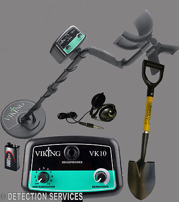 "Viking VK10 metal Detector coil 8""DD for beach shoreline and terra"