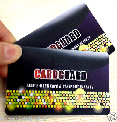 2 X RFID Credit Card Protector_CARD GUARD SCAN BLOCKER_Protect Your Identity