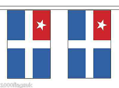 Greece Crete Polyester Flag Bunting - 10m with 28 Flags