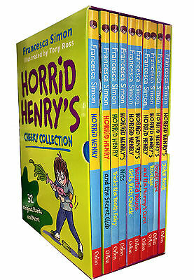 Horrid Henry Cheeky Collection 10 Books Box Set by Francesca Simon and Tony Ross