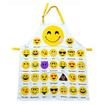 Novelty Cute Emoji Icon Adults Apron Ideal Gift