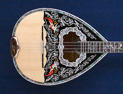 """Professional 8-string Greek Bouzouki """"ANGELS"""" Hand Made in Greece"""