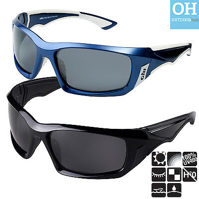 Gill Speed Sunglasses Black Blue Sailing Floating UV Protection Hydrophobic