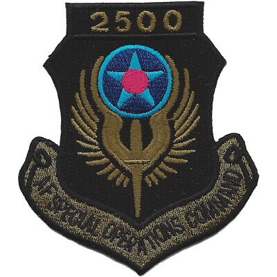 AFSOC 2500 Hours Tab Patch