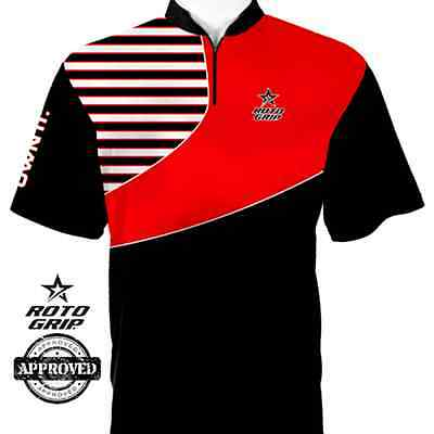 Roto Grip Jersey Own It Black/Red Mens Bowling Jersey