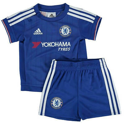 Chelsea Baby Kit Home Shirt Shorts All Sizes Official Adidas CFC Item 2015/16