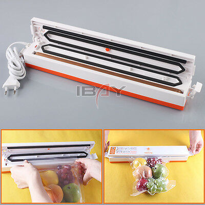 Automatic Electric Kitchen Food Vacuum Sealer Sealing Packer Machine Storage New