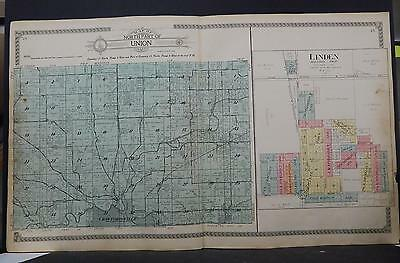 Indiana, Montgomery County Map, 1917 Union Township - North Part P2#11
