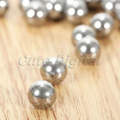 7mm 8mm Outdoor Target Games Hunting Slingshot Steel Balls Catapult Bearing Ammo