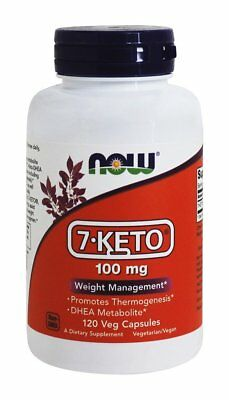 7-Keto 100 Mg  120 Vcaps NOW Foods