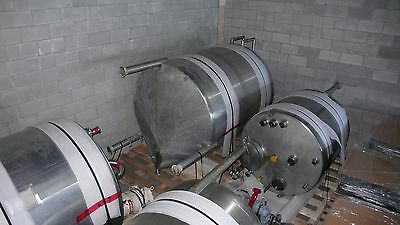 1350 Gallon Stainless Steel Processing Tank