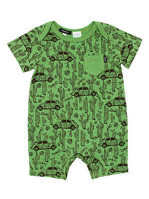 Fred Bare Baby Boys Cactus Romper One Piece