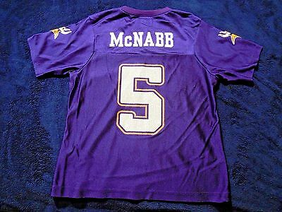 McNabb #5 Minnesota Vikings Jersey Team NFL Apparel Womens Juniors Small