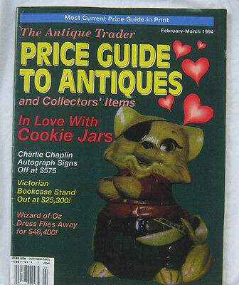 The Antique Trader Pricing Guide To Antiques and Collectors Items Feb-Mar 1994