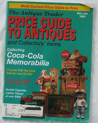 The Antique Trader Pricing Guide To Antiques and Collectors Items Dec-Jan 1993
