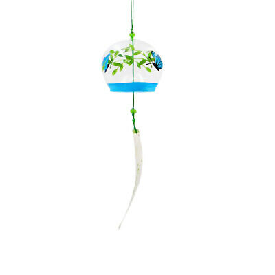 Variou Pattern Japanese Culuture Glass Bell Furin Wind Chimes Home Hanging Decor