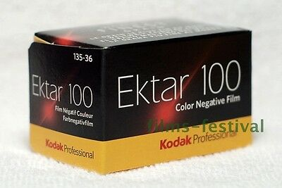 5 rolls KODAK EKTAR 100 Camera Film 35mm 135-36 Color Print FREESHIP