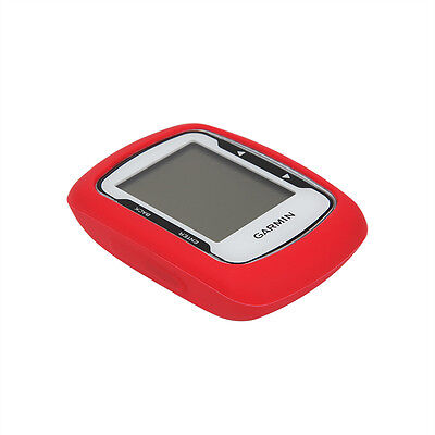 Bicycle Cycling Training GPS Accessory Red Rubber Case for Garmin Edge 500/200