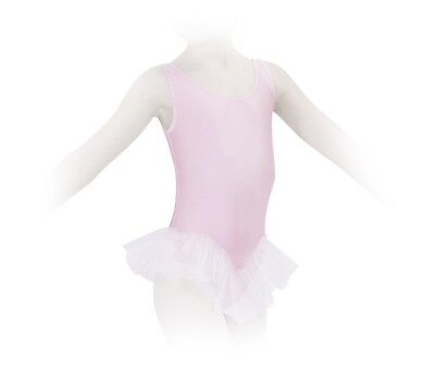 tunique de danse à volant, justaucorps  REPETTO D025 ,rose en 12 ans (10/12 ans)