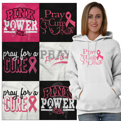 Breast Cancer Awareness Hooded Sweatshirts