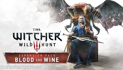 The Witcher 3 Blood And Wine Pc Steam Gog Dlc Code