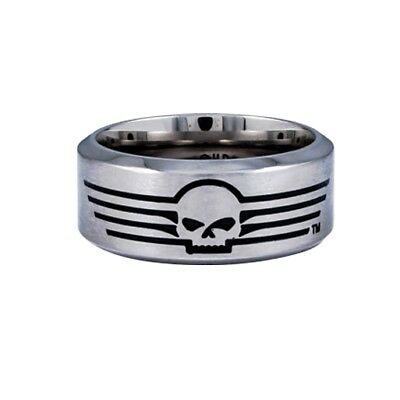 Harley-Davidson Fingerring Skull with Lines