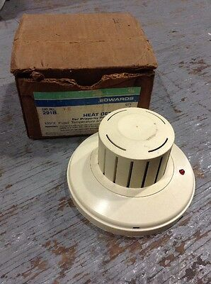 291B Edwards Automatic Heat Detector Head 24V (New In Box)