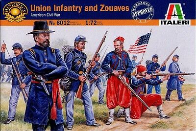 Italeri - Union infantry and zouaves (American Civil War) - 1:72