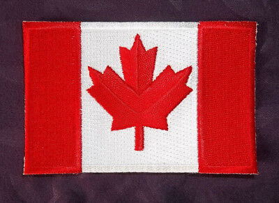 Canada Flag Patch Large Canadian Flag Sew Or Iron On Diy