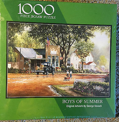 BOYS OF SUMMER 1000 pc Jigsaw Puzzle - Bits and Pieces - NEW, SEALED
