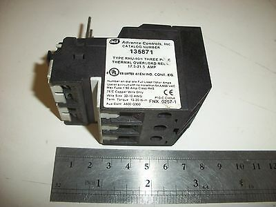 ACI 135871 Thermal Overload Relay, 3 pole