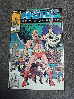 Masters of the Universe: The Motion Picture (1987) * Star Comics * He-Man *