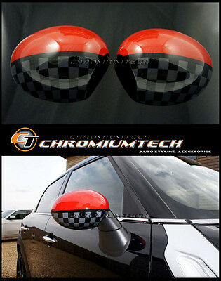 MINI R60 R61 Countryman Paceman JCW Style Wing MIRROR Cap Covers for Manual Fold