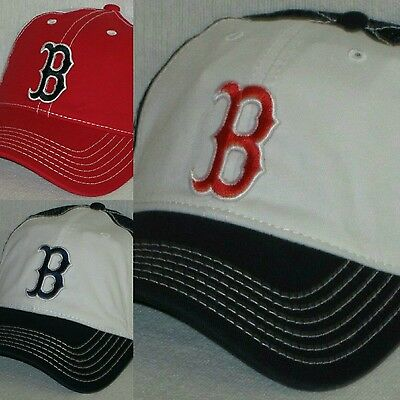 Boston Red Sox Retro Snap Back Cap ~Hat ~Classic MLB Patch Logo ~3 Colors ~New