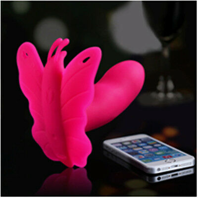 Bluetooth Wireless App Remote Control Vibration Vibrating Smartphone Butterfly