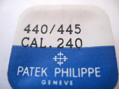 Patek Watch 240 Yoke Spring & Set Bridge Part 440/445